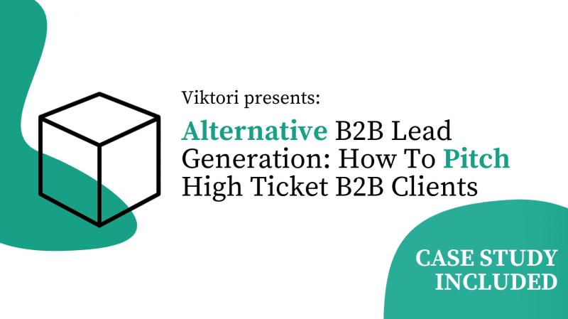 alternative b2b lead generation approach